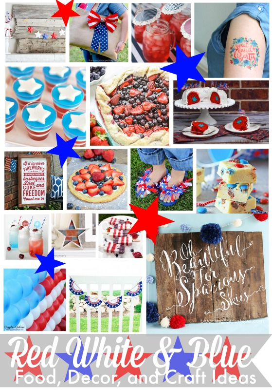 Red White and Blue Patriotic Cookies – 2nd Annual Blog Hop