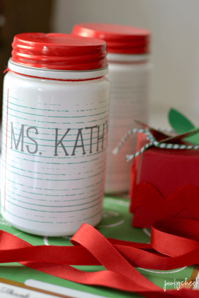 Back to School Teacher Gift – Silhouette Cameo Project with Adhesive Vinyl