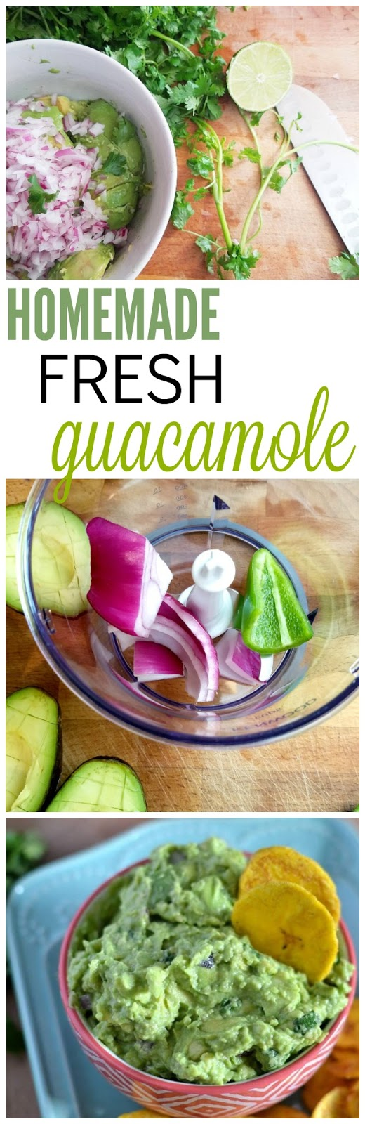 Homemade guacamole recipe - whole 30 approved.