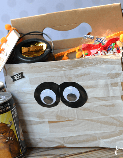 Halloween Mummy BOO Kit Tutorial and Printable
