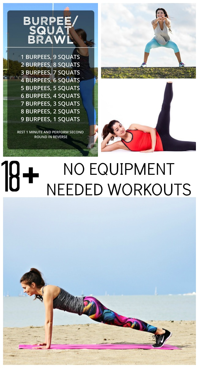 18 Quick No-Equipment Needed Exercise Routines