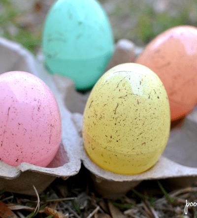Speckled Easter Eggs Tutorial – Craft