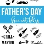 Father's Day DXF and SVG files
