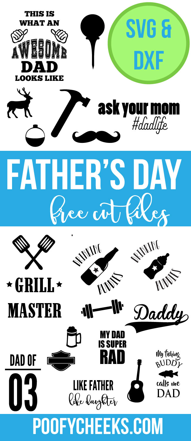 3c8cb684 Father's Day Free Cut Files - SVG and DXF for Silhouette and Cricut ...