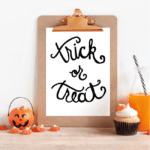 Trick or Treat Cut File