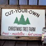 Christmas Tree Farm - Free Cut File