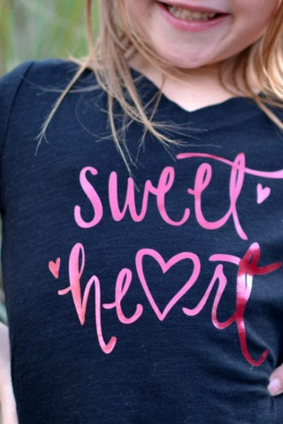 Valentine's Day Cut File – Sweet Heart Cut File for Silhouette and Cricut Machines