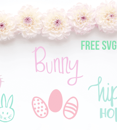 Easter Bunny Cut Files – Free SVG and DXF files for Silhouette and Cricut Users