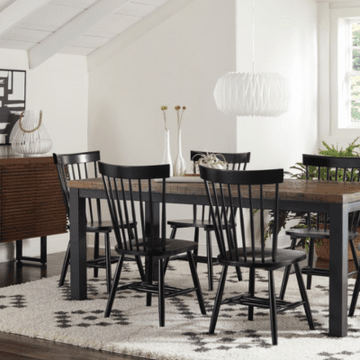 Farmhouse Dining Chairs in Black - Vote for our dining chairs House that Votes Built.