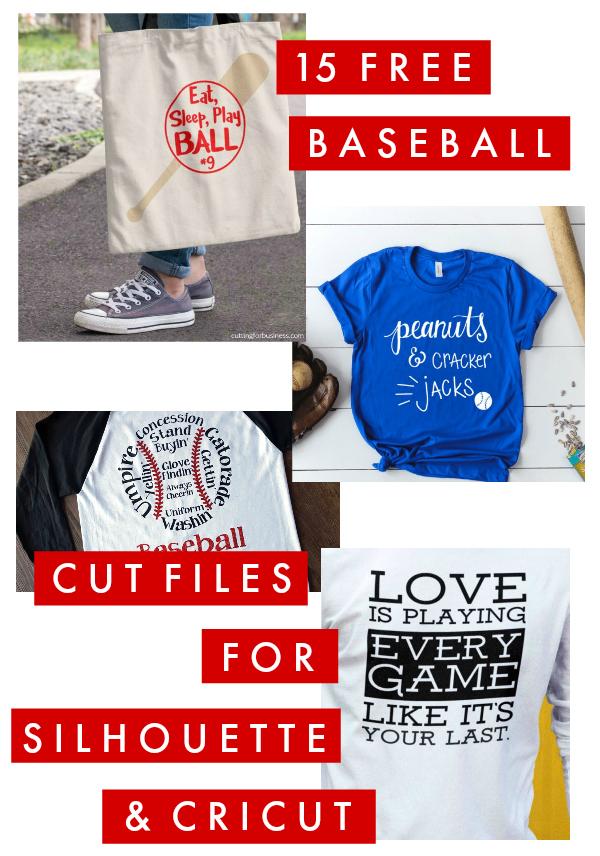 Softball Cut Files for Softball T-Shirts You Need - Poofy ...