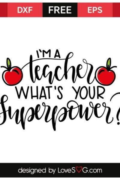 15 Inspiring Teacher Appreciation Cut Files for Silhouette and Cricut
