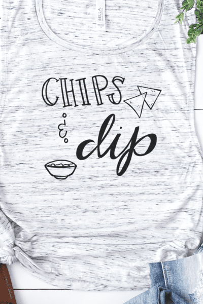 Free Cut File Chips and Dip – Cut File Design for Silhouette and Cricut Machines