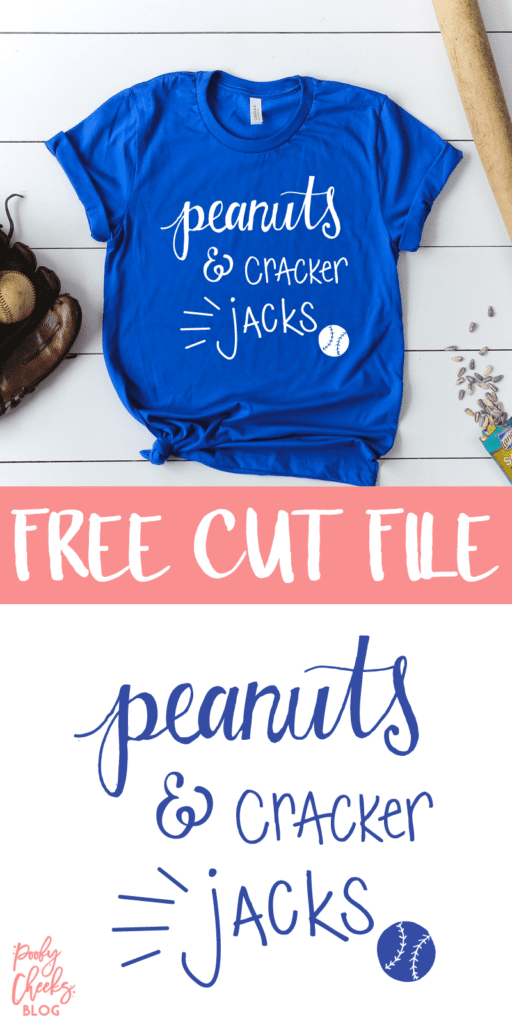 Free baseball cut file - Baseball cut file for use with Silhouette and Cricut. Create a baseball tee for the games this season.