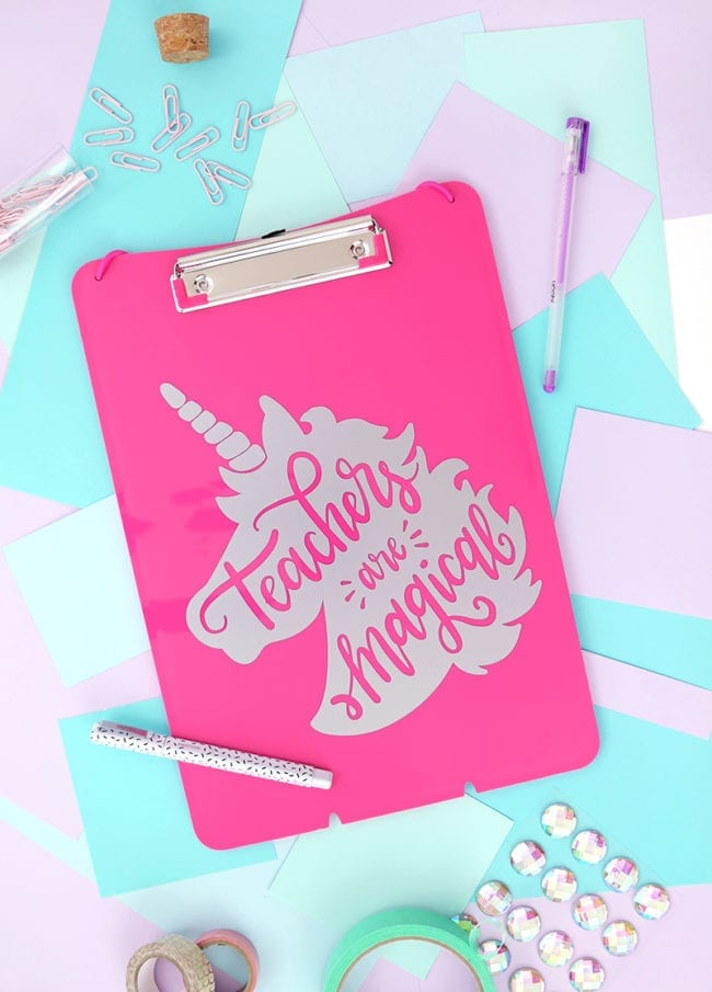 15 Inspiring Teacher Appreciation Cut Files for Silhouette and Cricut Machines from Poofycheeks.com