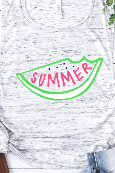 Summer Watermelon Cut File – Silhouette and Cricut Designs and Project Ideas