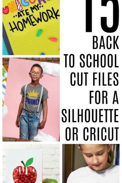 15 Free Back to School Cut Files for Silhouette or Cricut – Back to School Theme