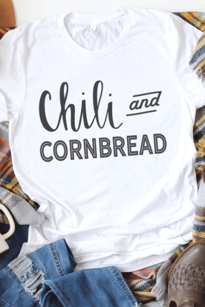 Chili and Cornbread Free Cut File – Silhouette and Cameo Designs – SVG, DXF, PNG