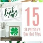 St. Patrick's Day cut files. Free cut files for Silhouette and Cricut cutting machines.