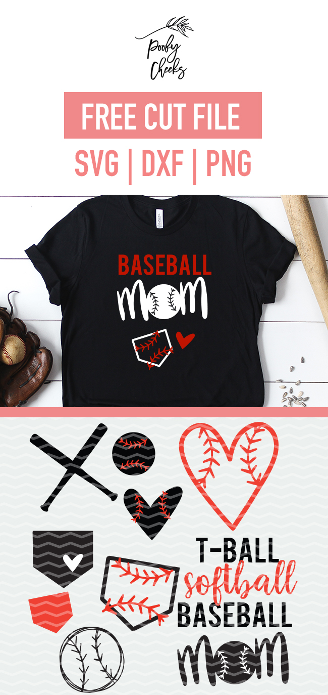 Balls, bats and diamond cut files. Use these shapes for softball, baseball and t-ball designs. Cut files for Cricut and Silhouette.