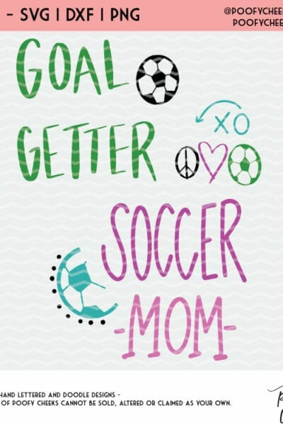 Free Soccer Cut Files – Silhouette an Cricut – DXF, SVG, PNG