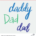 Dad Cut File