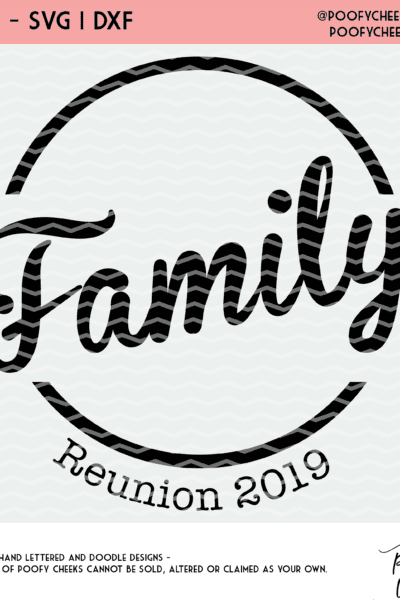 Family Reunion Cut File
