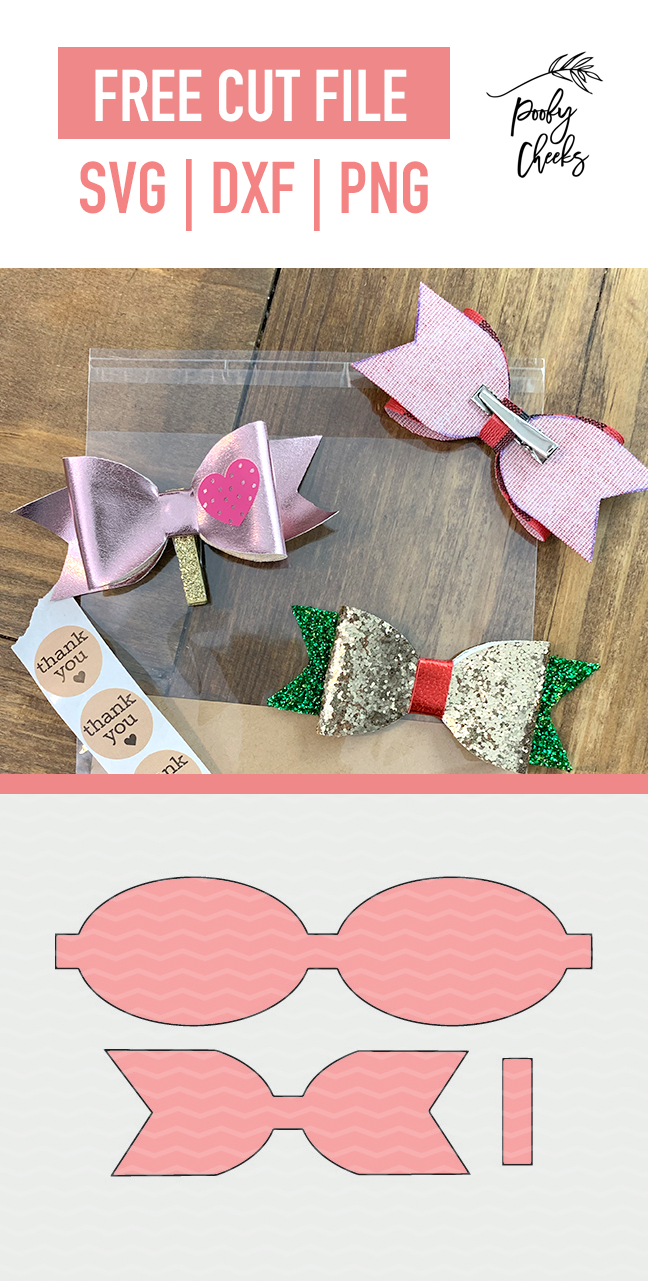 It is a picture of Free Printable Hair Bow Templates inside mat
