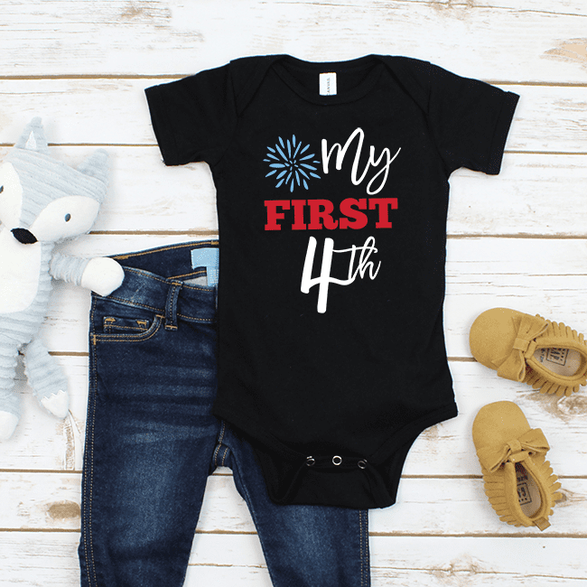 My First Fourth Onesie