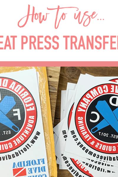 Heat Press Transfers VS Heat Transfer Vinyl – Heat Press Business