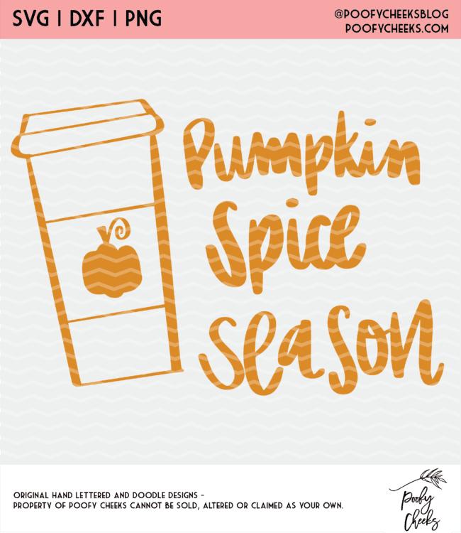 pumpkin spice season design