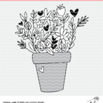 flower pot design