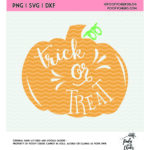 pumpkin trick or treat graphic