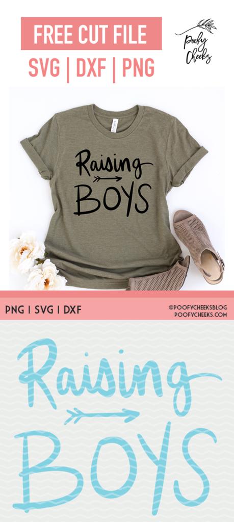 Raising Boys t-shirt