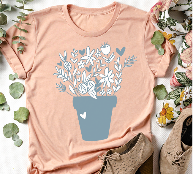 Flower Pot Shirt