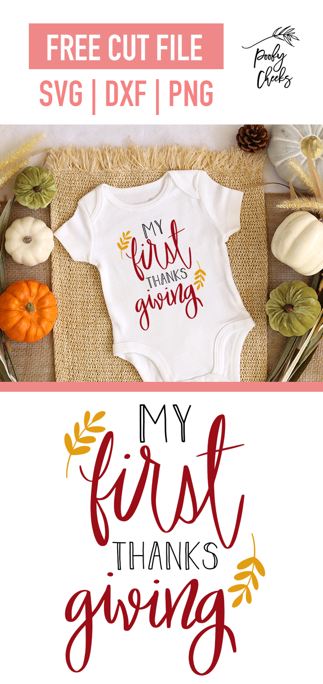 My First Thanksgiving onesie design