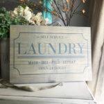 Laundry Sign Digital Design