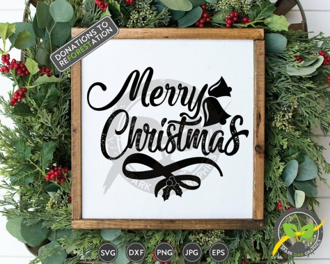 15 Christmas Cut Files from around the web. Use with Cricut and/or Silhouette machines.