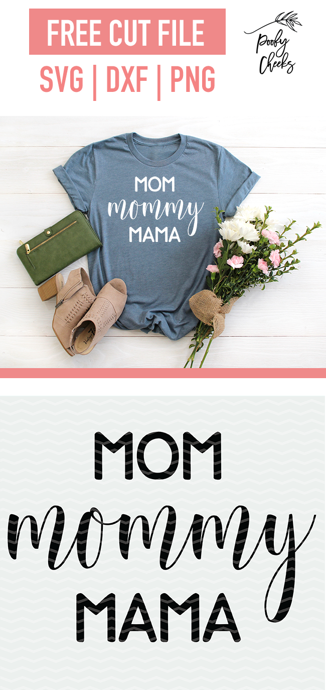 mom shirt cut file