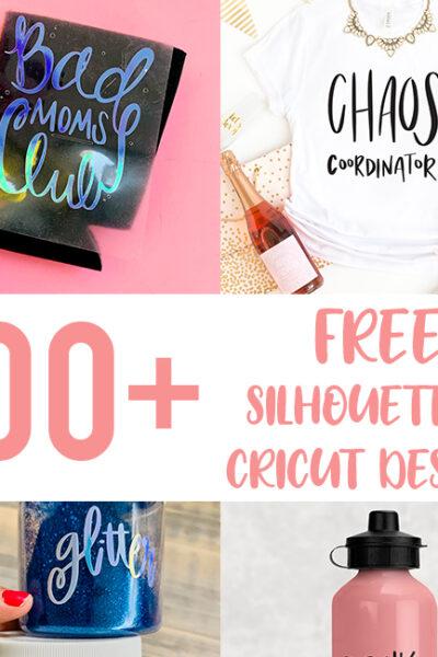 100+ Free Silhouette and Cricut Designs