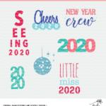 New Year Cut Files - Digital Designs