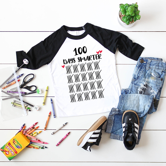 100 Days Smarter Cut File Svg Dxf And Png For Silhouette And Cricut