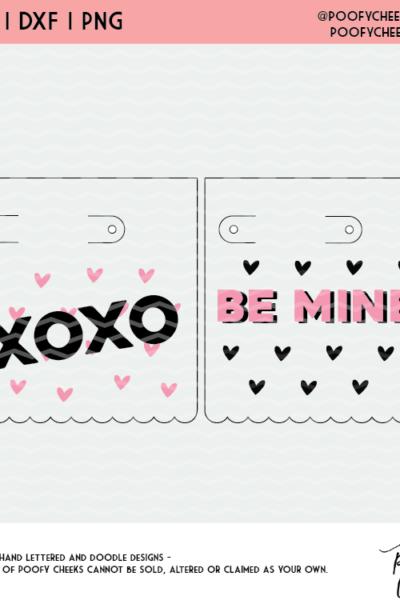 Lollipop Valentine Cut File – Silhouette and Cricut Valentine