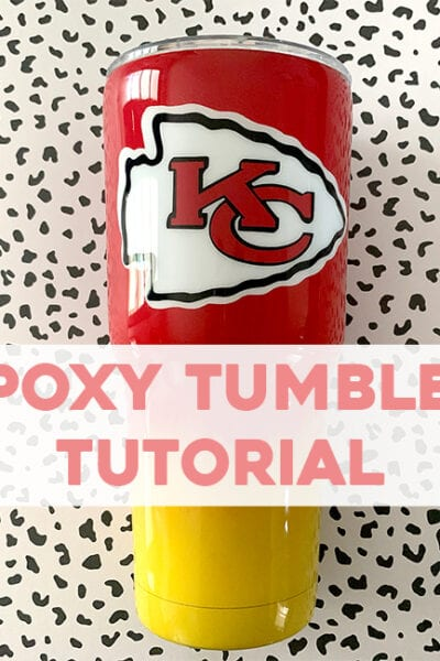 Epoxy Tumbler Beginner Tutorial