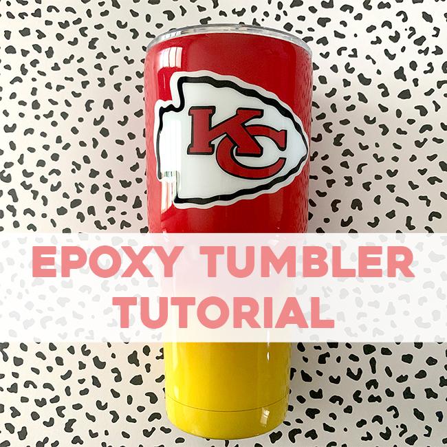 Epoxy Tumbler Tutorial