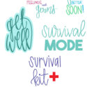 Get Well Cut File Bundle - Digital Designs
