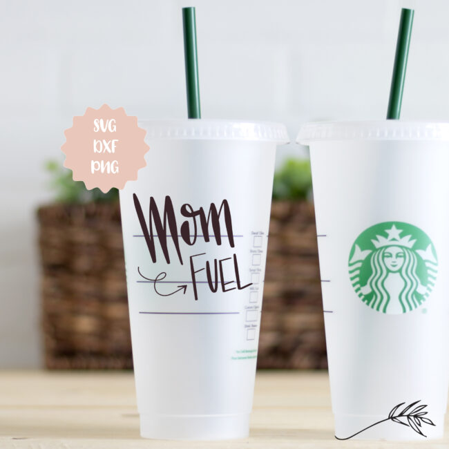 Mom Fuel Digital Design - SVG, DXF and PNG
