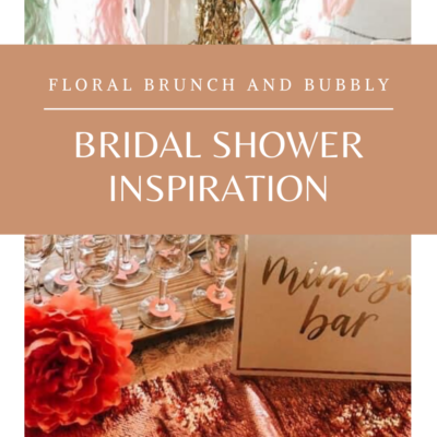 Floral Bridal Shower Inspiration