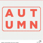 Autumn Cut File - Digital Design