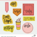 September Planner Cut Files - Digital Designs